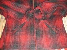 他の写真2: 1940'S UNKNOWN RED X BLACK PLAID WOOL SPORTS JKT  SZ/42〜44