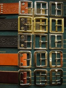 "他の写真1: RAWHIDE STUDDED & JEWELED BELT LOT-134/ 1-3/4""[44MM]"