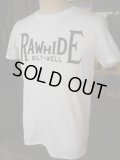RAWHIDE BILT-WELL TEE/F,B/P/GILDAN BODY/WHITE/BLACK