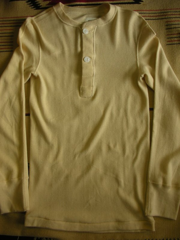 画像5: 1984'S〜 DEADSTOCK US MILITARY TYPE1 UNDERSHIRT,HENLYNECK/SMALL