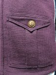 画像6: Dapper's Classical Fourpocket Zip Knit Cardigan LOT1081