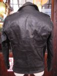 画像8: 1950'S EDGO STEERHIDE W MOTORCYCLE JACKET SZ/40