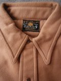 1930'S DEADSTOCK SER-VAL CHIN STRAP FLANNEL SHIRT SIZE/16