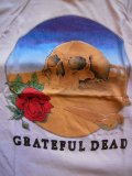 1981 DEADSTOCK GRATEFUL DEAD EURO TOUR TEE STANLEY MOUSE DESIGN