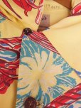 画像7: 1940'SMOORE'S HULA GIRL PRINTED RAYON HAWAIIAN SHIRT SZ/L