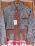 1940'S DEADSTOCK BROWNIE SPORTSWEAR TWO TONE SPORTS JACKET/YOUTH16