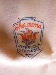 画像10: 1940'S〜 DEADSTOCK CHERMONA FRENCH HENLY NECK UNDER SHIRT SIZE/45