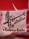 画像8: 〜1950'S CATARINA BAMBOO FLOWER PRINTED RAYON HAWAIIAN PULLOVER SHIRT/M