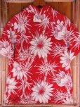 画像7: 〜1950'S CATARINA BAMBOO FLOWER PRINTED RAYON HAWAIIAN PULLOVER SHIRT/M