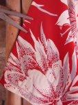 画像14: 〜1950'S CATARINA BAMBOO FLOWER PRINTED RAYON HAWAIIAN PULLOVER SHIRT/M
