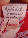 画像9: 〜1950'S CATARINA BAMBOO FLOWER PRINTED RAYON HAWAIIAN PULLOVER SHIRT/M
