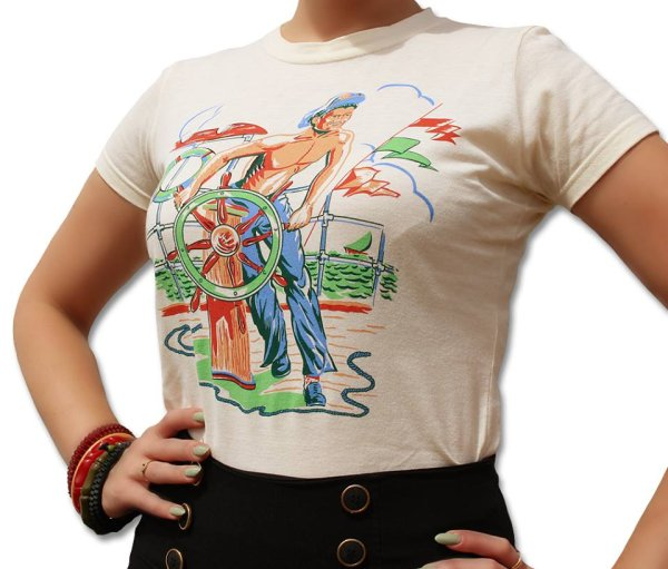 画像1: Atomic Swag The Sailor Ladies Tee