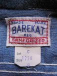 画像3: 1950'S DEADSTOCK BAREKAT BLUE CHAMBRAY BOYS SHIRT /SIZE8