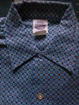 画像2: 1950'S DEADSTOCK BARTEL BOYS PRINTED FLANNEL SHIRT /SIZE14  (2)