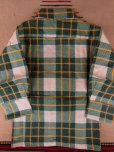 画像7: 1950'S DEADSTOCK E&W BOYS PRINTED FLANNEL SHIRT /SIZE1  (7)