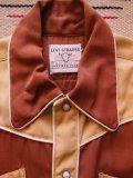 1950'S DEADSTOCK  LEVI'S SHORTHORN BOYS WESTERN SHIRT