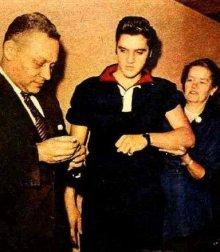 他の写真2: 1950'S PURITAN BLACK X RED COLLAR ELVIS PRESLEY STYLE KNIT PULLOVER