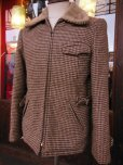 画像1: 1960'S PETER'S REGGIE WOOL BELTED SPORTS JACKET SIZE/38 (1)