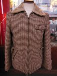 画像2: 1960'S PETER'S REGGIE WOOL BELTED SPORTS JACKET SIZE/38 (2)