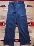 画像2: 1961'S USED U.S.NAVY DENIM DUNGAREE PANTS SIZE/33X33 (2)