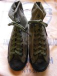 画像2: 1945'S DEADSTOCK WWII U.S.MILITARY CANVAS O.D. TRAINING SHOES /5 (2)
