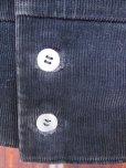 画像10: 1950'S BLACK CORDUROY SHIRT JACKET SZ/M