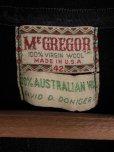 画像3: 1950'S McGREGOR AUSTRALIAN DARK NAVY WOOL CARDIGAN SIZE/42
