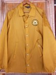 画像2: 1960S〜 TOWNCRAFT UNION H/S COUGARS NYLON COACH JACKET/SMALL (2)