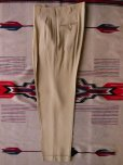 画像2: 1950'S GULF STREAM SLACKS YELLOW R'N'R SLACKS W33 X L33 (2)