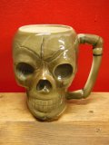 1950'S〜 PIRATES HOUSE SKULL POTTERY TIKI MUG ヴィンテージ陶器製スカルマグ6