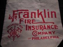 他の写真1: THE FRANKLIN FIRE INS, CO,/TOTE BAG NAT 1
