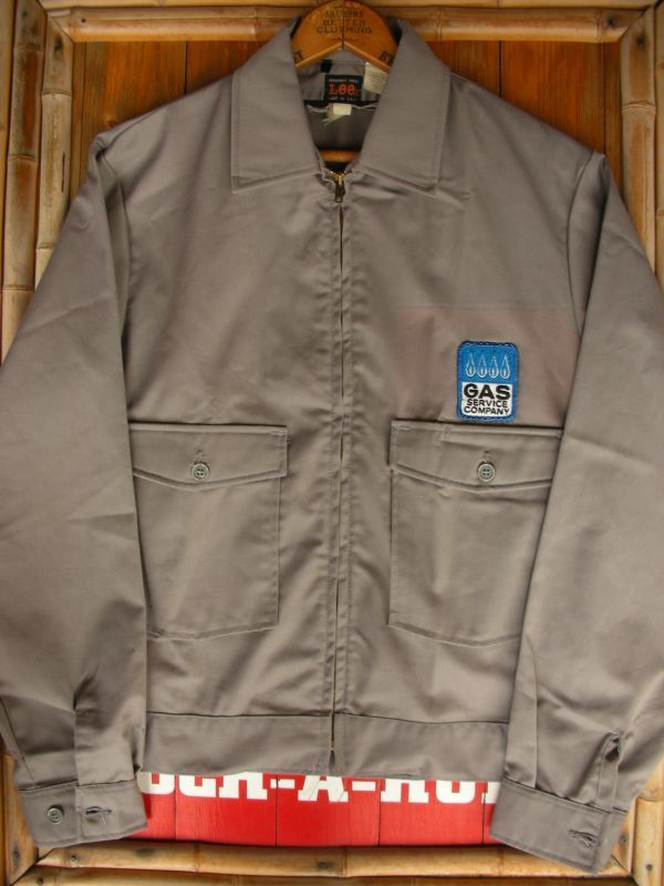 1960 39 s lee permanent press work jacket sz 36r rock a hula vintage clothing. Black Bedroom Furniture Sets. Home Design Ideas