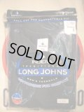 NEW INDERA LONG JOHN THERMAL BLACK/SZ/M