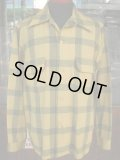 1950'S DEADSTOCK BUCK SKEIN JOE WOOL SHIRT  SZ/M