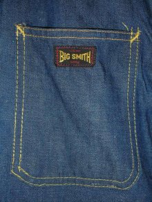他の写真1: 1960'S BIGSMITH BLANKET LINED DENIM WORK JACKET SZ/42