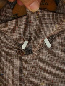 他の写真2: 1950'S DEADSTOCK E&W FLECK TWEED WOOL SHIRT SZ/SMALL