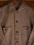 画像5: 1950'S DEADSTOCK E&W FLECK TWEED WOOL SHIRT SZ/SMALL (5)