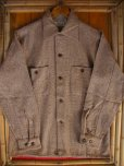 画像3: 1950'S DEADSTOCK E&W FLECK TWEED WOOL SHIRT SZ/SMALL (3)