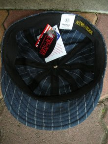 他の写真3: NEW YORK HAT/#6273/LINEN STRIPE SPITFIRE/NAVY