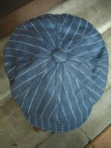 他の写真2: NEW YORK HAT/#6273/LINEN STRIPE SPITFIRE/NAVY