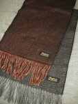 画像3: DAPPER'S HERRINGBONE CASHMINK SCARF LOT926/   (3)