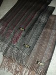 画像1: DAPPER'S STRIPE WOOLEN SCARF LOT927    (1)