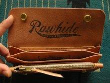 他の写真1: RAWHIDE TRUCKERS WALLET LOT-501/ NATURAL SADDLE