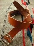 """画像3: RAWHIDE PLAIN BELT/UK BRIDLE SADDLE By J & FJ Baker & Co,LOT-001/ 1-3/4""""[44MM]"""