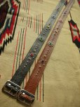 "画像7: RAWHIDE STUDDED & JEWELED BELT LOT-101/A street car named desire/ 1-3/4""[44MM]"