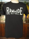 画像3: RAWHIDE BILT-WELL TEE/F,B/P/GILDAN BODY/WHITE/BLACK (3)