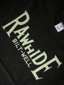 他の写真1: RAWHIDE BILT-WELL TEE/F,B/P/GILDAN BODY/WHITE/BLACK