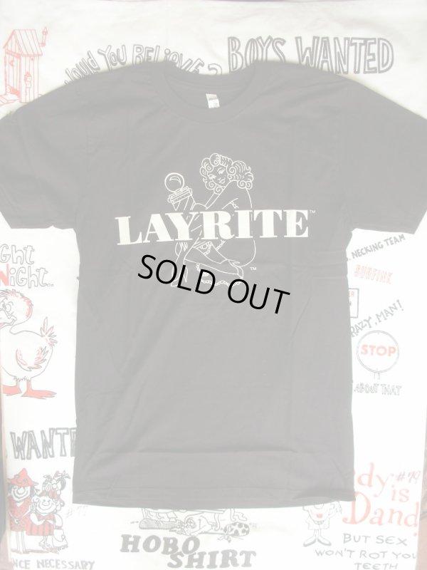 画像2: LAYRITE Black T,