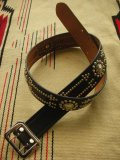 "RAWHIDE STUDDED & JEWELED BELT LOT-133/ 1-3/4""[44MM]"