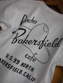 他の写真1: RAWHIDE BAKERSFIELD CAFE TEE/B/P/7.1oz H.W BODY/WHITE/BLACK